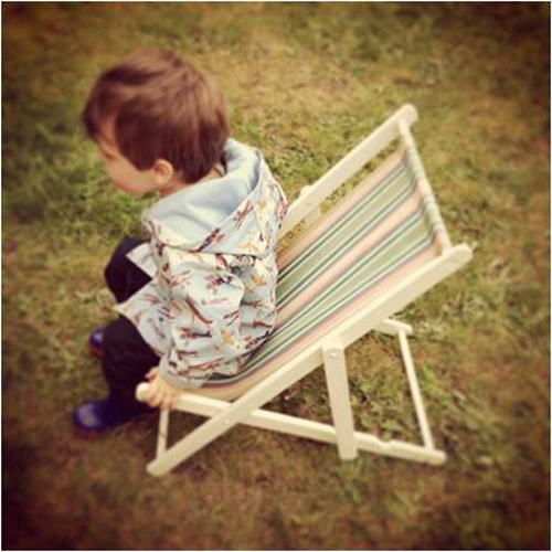 Kids deckchairs